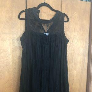 High neck lace dress size xxlarge